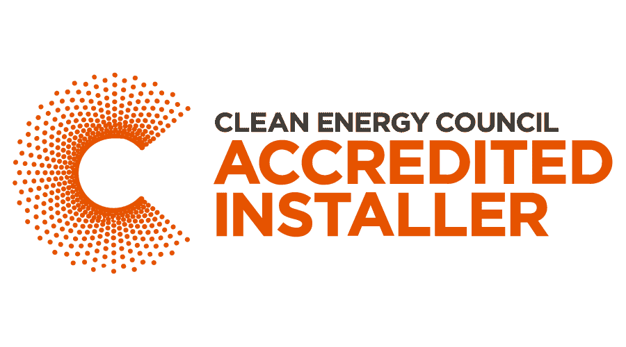 Clean Energy Council Accredited Installer Logo Vector