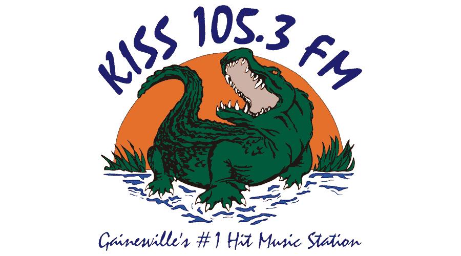 Kiss 105.3 FM Logo Vector