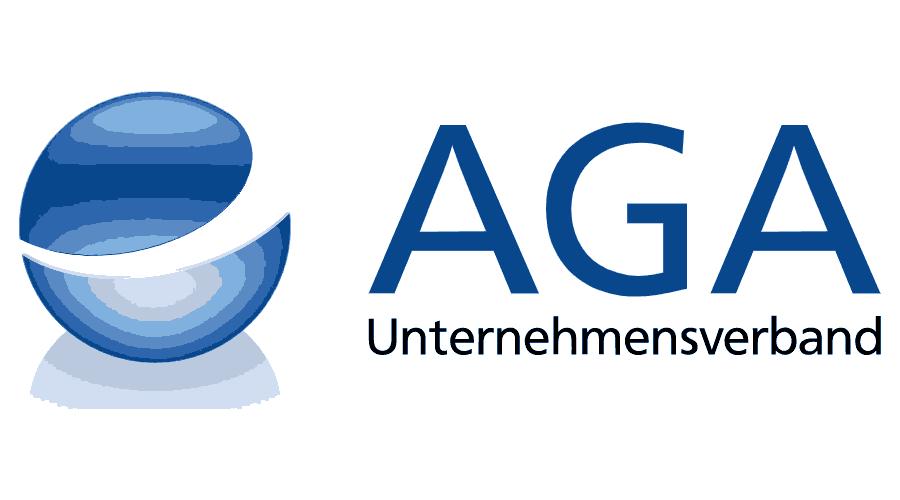 AGA Unternehmensverband Logo Vector