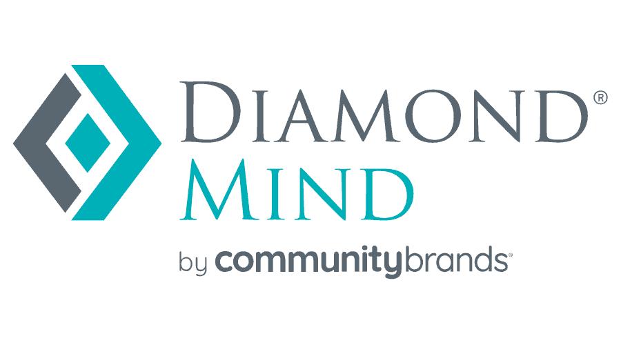 Diamond Mind by Community Brands Logo Vector