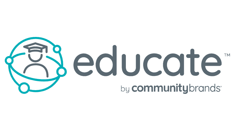 Educate by Community Brands Logo Vector