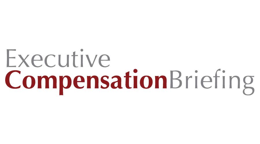 Executive Compensation Briefing Logo Vector