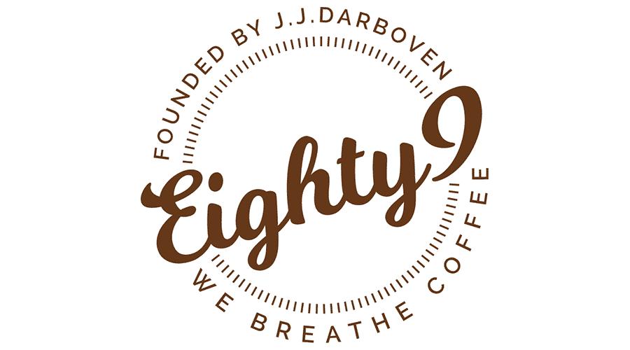 Eighty9 Coffee Logo Vector
