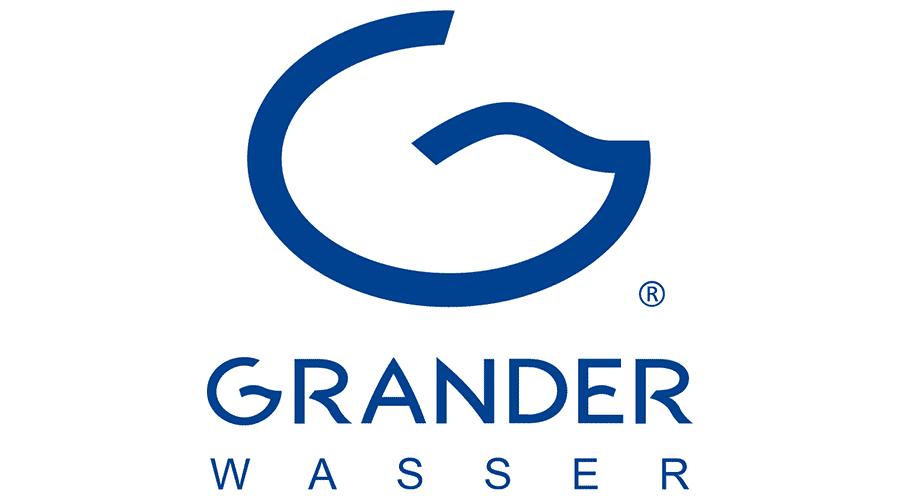 GRANDER-Wasser Logo Vector