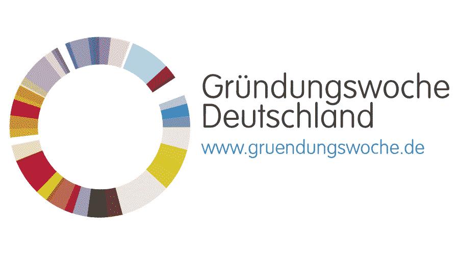 Gründungswoche Deutschland Logo Vector