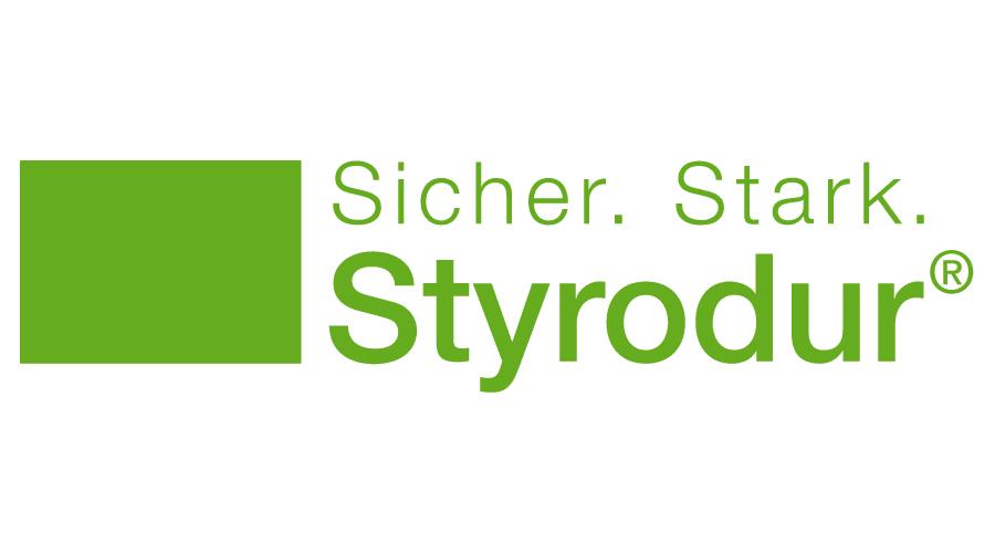 Sicher. Stark. Styrodur Logo Vector